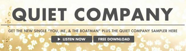 Quiet Company Werbung auf Grooveshark