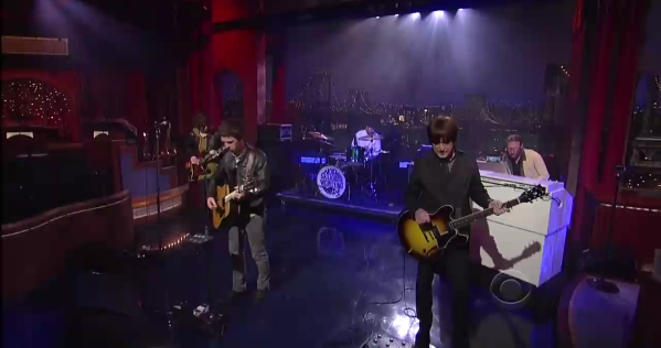 Live: Noel Gallagher's High Flying Birds - If I Had A Gun @ Late Night with David Letterman