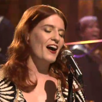 Live: Florence And The Machine @ Saturday Night Live 01