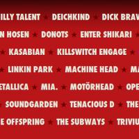 Festiva-Ankündigungen für Rock am Ring und Rock im Park 2012