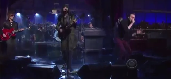 Live: Kasabian – Days Are Forgotten @ Late Night With David Letterman
