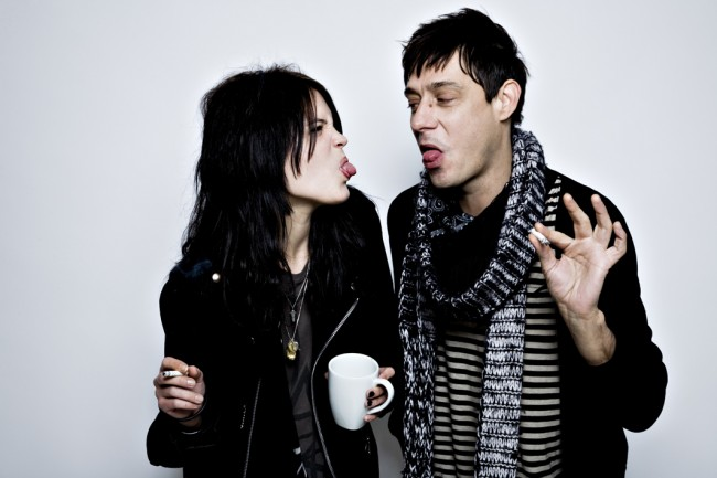 The Kills: Alison Mosshart und Jamie Hince