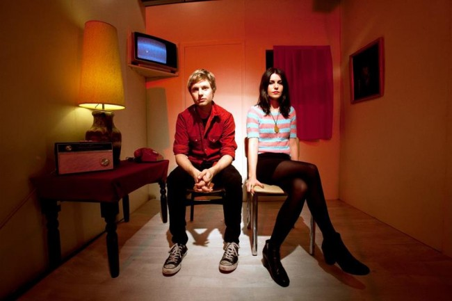 Blood Red Shoes: Steven und Laura-Mary