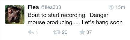 Flea on Twitter