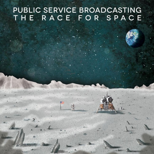 The Race For Space Album Cover Public Service Broadcasting