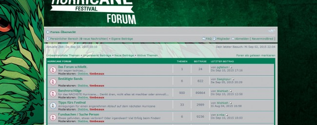 Hurricane Forum