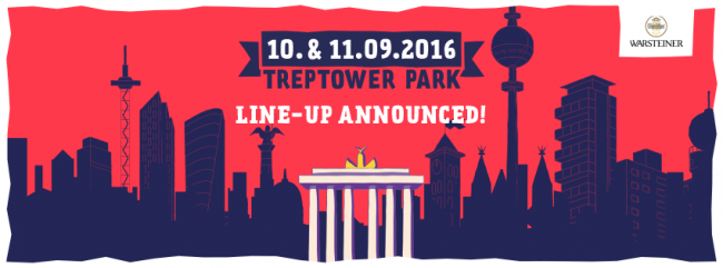 Lollapalooza Berlin - Line-Up Announced