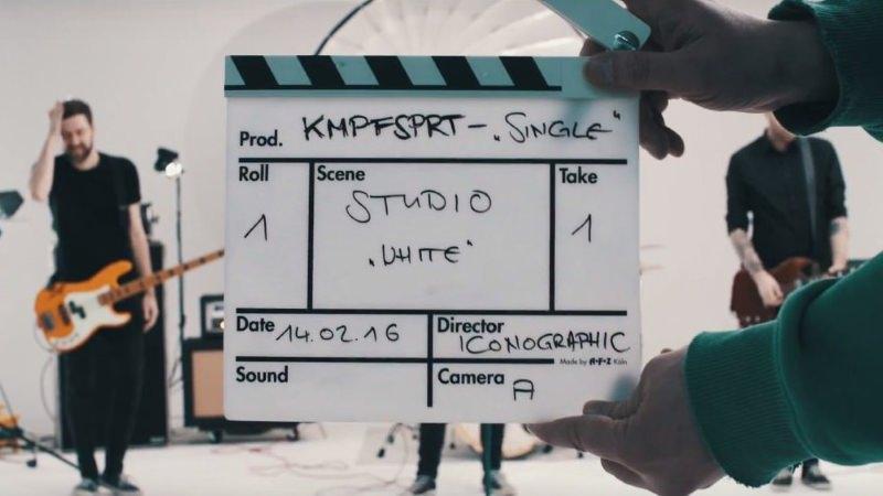 KMPFSPRT - Ich hör die Single nicht (Musikvideo)