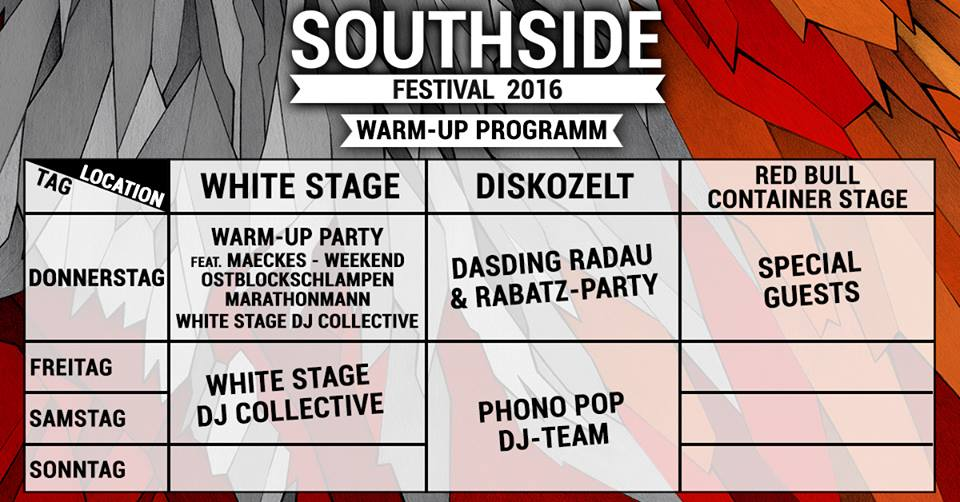 Foto: Facebook / Southside Festival