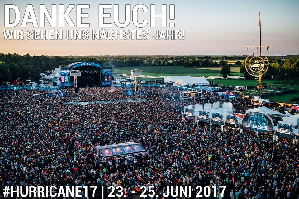 Bildquelle: Facebook Hurricane Festival