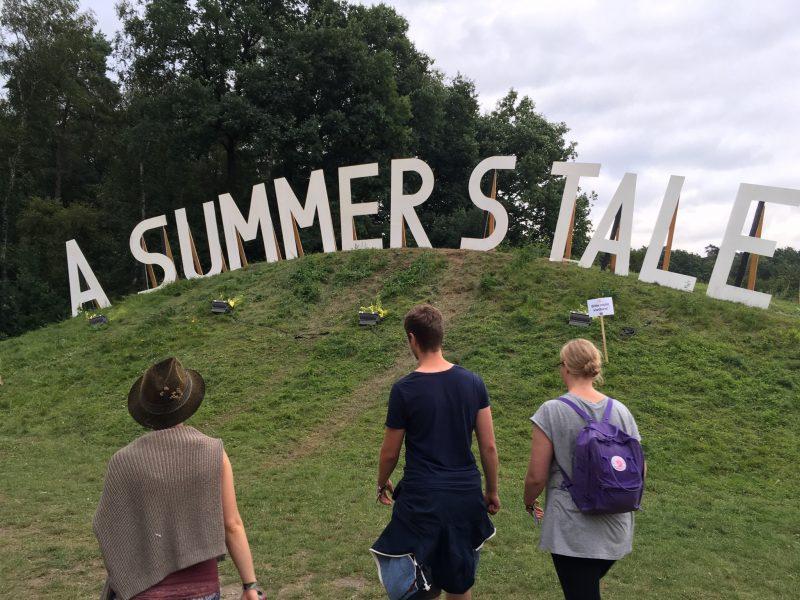 A Summer's Tale Schriftzug