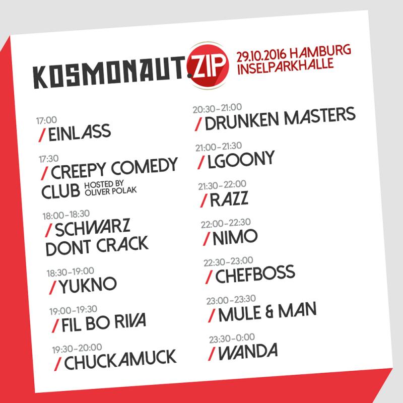 Kosmonaut.ZIP (Timetable)