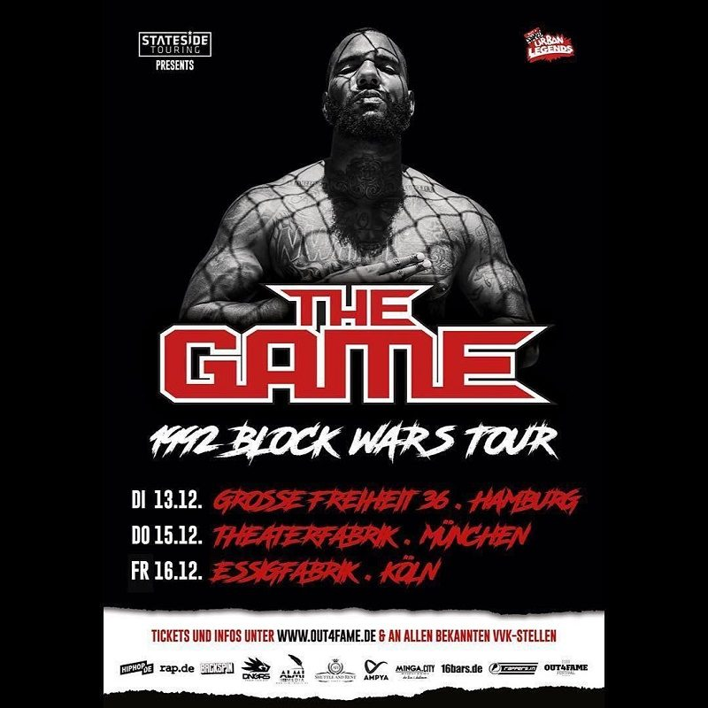 The Game Tour Plakat