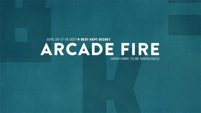 Best Kept Secret Festival: Arcade Fire Headliner