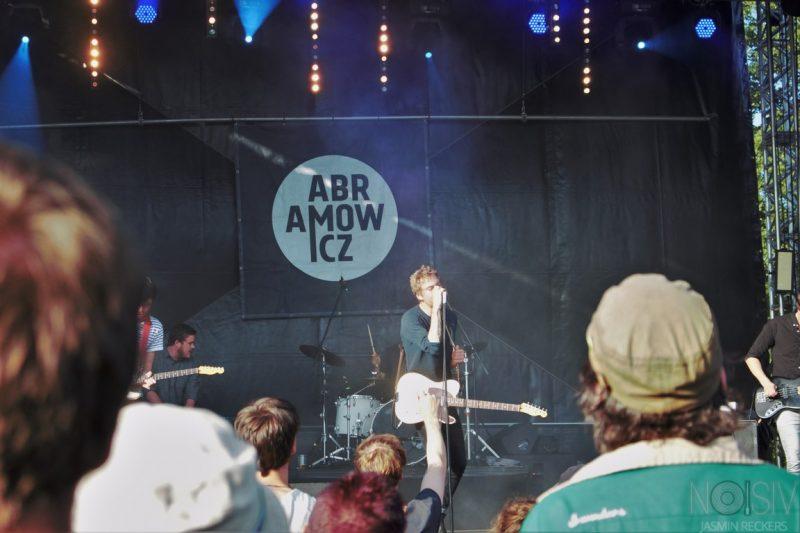 Abramowicz auf dem Oakfield Festival