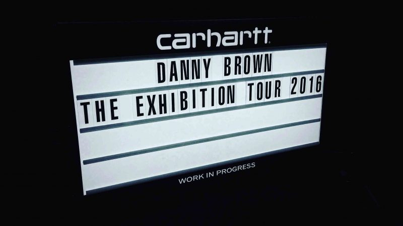 Danny Brown - The Exhibition Tour 2016
